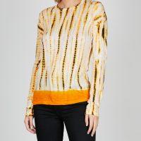Proenza Schouler Top Long Sleeve Tie Dye S