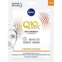 Q10 Vitamin C sheet mask, Nivea Ansiktsmaske