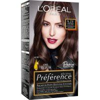 Récital Préference Premium Fade-Defying Colour 5,21 Light Br, L'Oréal Paris Hårfarge
