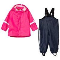 Reima Rain outfit, Tihku Candy pink 92 cm (1,5-2 år)