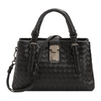 Roma bag in woven leather