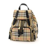 Rucksack Vintage Check And Stripes Backpack