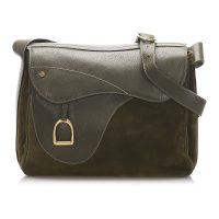 Saddle Leather Crossbody Bag