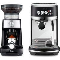 Sage The Bambino Plus espressomaskin & kaffekvern, svart