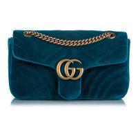 Small Marmont Velvet Shoulder Bag