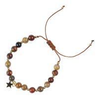 Stone Bead Bracelet 6 MM
