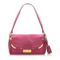 Suede Shoulder Bag Leather
