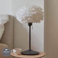 UMAGE Eos mini bordlampe hvit Champagne svart