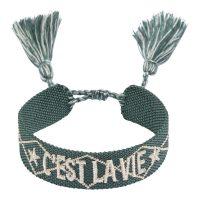 Woven Friendship Bracelet C'est LA VIE