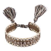 Woven Friendship Bracelet Hasta LA Vista