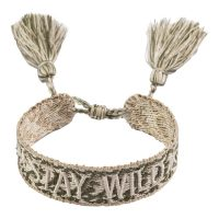 Woven Friendship Bracelet Stay Wild