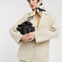 & Other Stories linen oversized blazer in beige