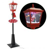 vidaXL Julegatelampe med julenisse 180 cm LED