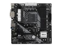 ASRock B450M Pro4-F - Hovedkort - mikro ATX - Socket AM4 - AMD B450 - USB 3.1 Gen 1, USB-C Gen1 - Gigabit LAN - innbygd grafikk (CPU kreves) - HD-lyd (8-kanalers)