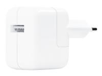 Apple 12W USB Power Adapter - Strømforsyningsadapter - 12 Watt (USB) - for iPad/iPhone/iPod