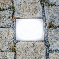 Attraktiv gulvinnbyggingslampe Pflasterstein 10