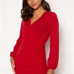 BUBBLEROOM Ramona dress Red L