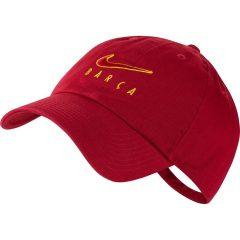 Barcelona Caps H86 - Burgunder/Gul