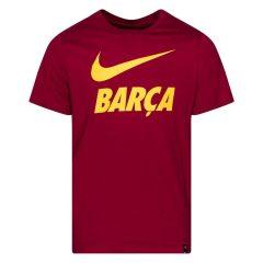 Barcelona T-Skjorte Training Ground - Burgunder