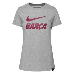 Barcelona T-Skjorte Training Ground - Grå Dame