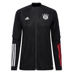 Bayern München Treningsjakke - Sort/Rød Dame