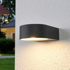 Bega – effektfull, utendørs LED-vegglampe 33224K3