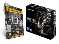 Biostar H61MHV2, Intel, LGA 1155 (Socket H2), Intel® Celeron®, Intel® Core™ i3, Intel Core i5, Intel Core i7, Intel® Pentium®, DDR3-SDRAM, DIMM, 1066,1333,1600 MHz