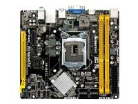 Biostar H81MHV3 - Hovedkort - mikro ATX - LGA1150-sokkel - H81 - USB 3.0 - Gigabit LAN - innbygd grafikk (CPU kreves) - HD-lyd (6-kanalers)