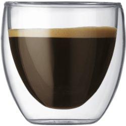 Bodum PAVINA Dobbeltvegget espressoglass, 0,08 l - 2 stk.