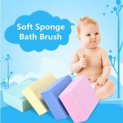 Body Sponge Bath Brush Bath Ball Scrub Exfoliating Body Spa Rub Back Bathroom Shower Scrubber