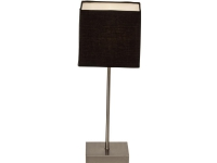 Brilliant Aglae 94873/63 Bordlampe LED (RGB) E14 40 W Charcoal, Krom (satineret)