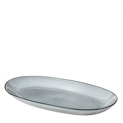 Broste Copenhagen Nordic Sea Fat Oval L 30 cm