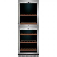 Caso WineChef Pro 126-2D vinkjøleskap
