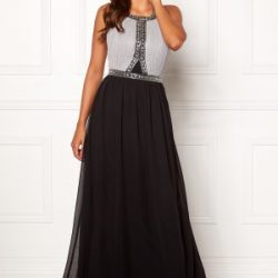 Chiara Forthi Anastasia embellished gown Black / Grey 40