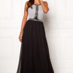 Chiara Forthi Anastasia embellished gown Black / Grey 44