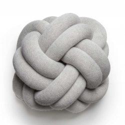 Design House Stockholm Knot Pute Hvit/Grå