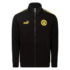 Dortmund Treningsjakke FtblCulture - Sort/Gul