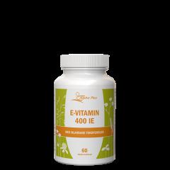 E-vitamin 400IE, 60 myk kapsler