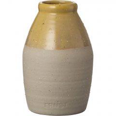 Ernst Vas halvglassert, d7 h11, sand/gul