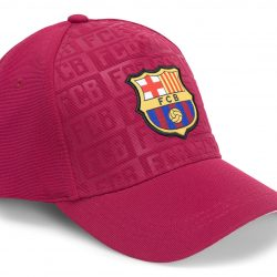 FC Barcelona Caps Kids, Dark Bordeaux