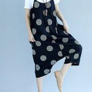 Fashion Women Polka Dot Spaghetti Strap Two Ways Wear Jumpsuit Rompers