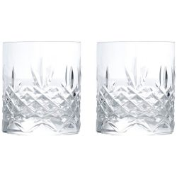 Frederik Bagger Crispy Lowball, whiskyglass 2 stk.