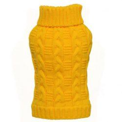 Frisk gul hundegenser