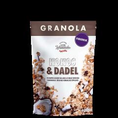 Granola Kokos & Daddel, 400 g