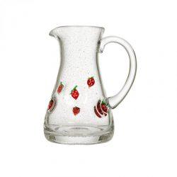 Hadeland Glassverk Jordbær Mugge 45 cl