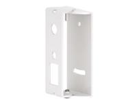 Hama - Veggmontering for høyttaler(e) (Easy-Fix) - metall - hvit - for Sonos PLAY:1