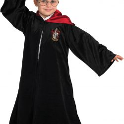 Harry Potter Kostyme Skolekappe, 9-10 År