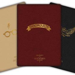 Harry Potter Skrivebok 3-pack