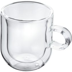 Horwood Glass double wall Espresso set of 2, 75ml
