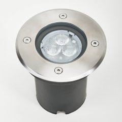 IP67 - LED-innbyggingslampe til gulv Ava, rund